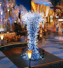 Dale Chihuly Sculpture at Mohegan Sun