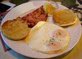 Eggs Cooked to Order - The Notchland Inn, Hart's Location, New Hampshire  - Photo by Luxury Experience