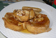 French Toast - The Notchland Inn, Hart's Location, New Hampshire  - Photo by Luxury Experience