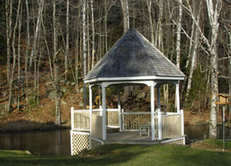 Gazebo- The Notchland Inn, Hart's Location, New Hampshire  - Photo by Luxury Experience