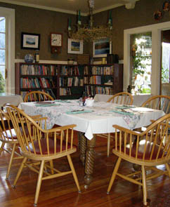 Library - The Notchland Inn, Hart's Location, New Hampshire  - Photo by Luxury Experience