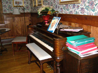 Music Room - The Notchland Inn, Hart's Location, New Hampshire  - Photo by Luxury Experience