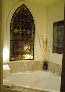 Soaking Tub - The Notchland Inn, Hart's Location, New Hampshire  - Photo by Luxury Experience