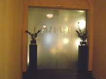 Palace Spa Entrance