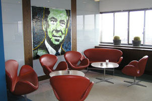 Radisson SAS Royal Hotel Copenhagen, Denmark - The lounge at Alberto K