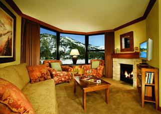 Suite Living Room - Resort at Squaw Creek, Olympic Village USA, California