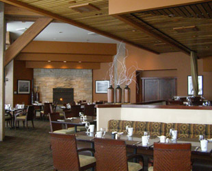 Six Peaks Grille - Resort at Squaw Creek, Olympic Village USA, California - photo by Luxury Experience