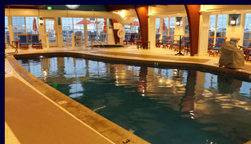 Saybrook Point Inn - Indoor Salt water pool - Luxury Experience