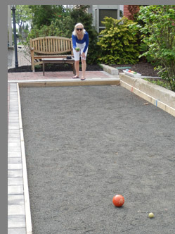Bocce Court at Tall Tales - Saybrook Point Inn & Spa - Old Saybrook, CT, USA - photo by Luxury Experience