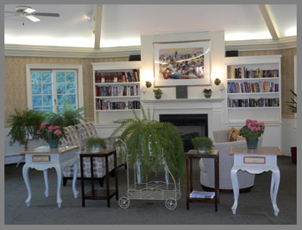 Library  - Southampton Inn, Long Island, NY, USA - photo by Luxury Experience