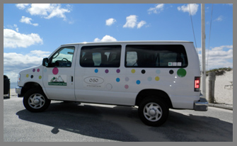 Beach Shuttle - Southampton Inn, Long Island, NY, USA - photo by Luxury Experience