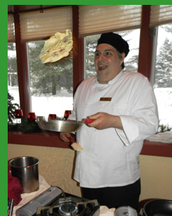 Chef Barry Schneider - Stoweflake Mountain Resort - photo by Luxury Experience
