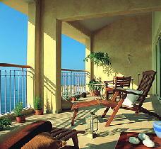 Thalassa Balcony View