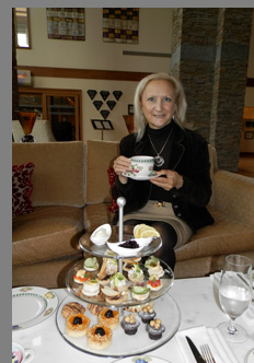 Afternoon tea - The Lodge at Turning Stone Resort Casion - Verona, NY, USA - photo by Luxury Experience