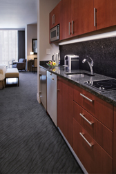 Trump International Hotel and Tower Chicago - Suite Bedroom Kitchen