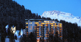 Tschuggen Grand Hotel - Arosa, Switzerland