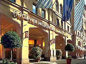 Kempinski Hotel Vier Jahreszeiten Munich exterior
