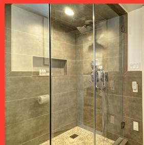 White Fences Inn - Guestroom Bathroom