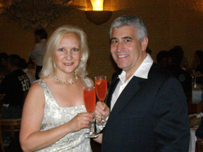 Debra C. Argen and Edward F. Nesta at Tales of the Cocktail 2009