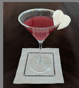 Luxury Experience - Hibiscus Flower Martini - photo by Luxury Experience