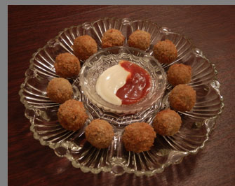 Luxury Experience - Ricotta Cheese Balls - photo by Luxury Experience