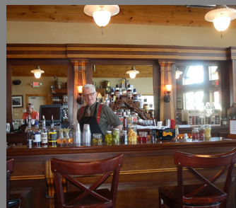 Catskill Distilling Company - Bartender Colin - Dancing Cat Saloon - photo by Luxury Experience