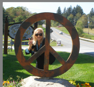 Catskill Distilling Company - Lawn Sculpture - photo by Luxury Experience