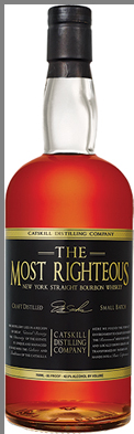 The Most Righteous New York State Straight Bourbon Whiskey - Catskill Distilling Company