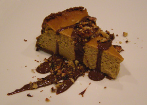Luxury Experience's Pumpkin Cheesecake - Photo by Luxury Experience