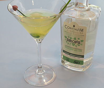 Luxury Experience - Cucumber Martini - photo by Luxury Experience