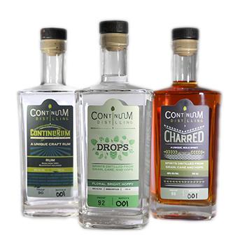 Continuum Distilling - ContinuRum, Drops, Charred
