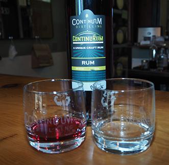 Continuum Distilling - Blueberry ContinuRum - photo by Luxury Experience