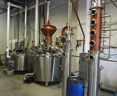 Stills at Fifth State Distillery - photo by Luxury Experience