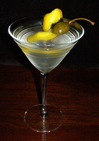 Luxury Experience Citrus Caper Berry Martini - Photo by Luxury Experience