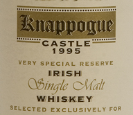 1995 Knappogue Castle Irish Whiskey