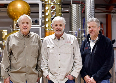 The Bakers - David, Jack and Peter Baker - Litchfield Distillery, CT, USA