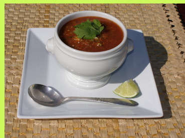 Luxury Experience - Gazpacho - photo by Luxury Experience