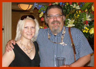 Debra Argen, David Wondrich - Photo by Luxury Experience