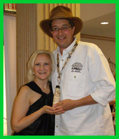 Debra Argen, Joe Fee - TOC 2011 - Photo by Luxury Experience
