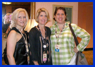 Debra Argen, Ann Tuennerman, Jennifer English - TOC 2011 - Photo by Luxury Experience