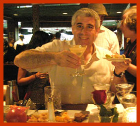 Edward Nesta tasting Purity Vodka Cocktail - TOC 2011 - Photo by Luxury Experience