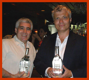 Thomas Kuttanen, of Purity Vodka, Edward Nesta - TOC 2011 - Photo by Luxury Experience