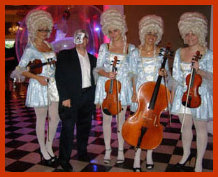 Edward Nesta and Musicians in Costume - Photo by Luxury Experience