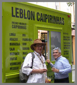 Leblon Cachaca - Joe Fee, Edward Nesta - TOC 2011 - Photo by Luxury Experience
