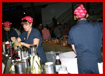 Rosie the Fiveters Bartenders - TOC 2011 - Photo by Luxury Experience
