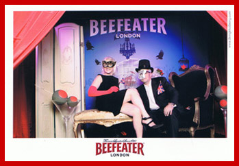 Beefeater Gin Masquerade Ball - Tales of the Cocktail 2011 - Debra Argen, Edward Nesta - Photo by Luxury Experience