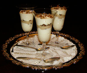 Luxury Experience's Coconut Mousse and bananas Foster Mousse - Photo by Luxury Experience