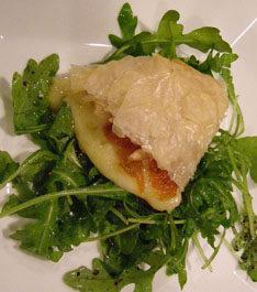Luxury Experience's Phyllo Wrapped Brie - Photo by Luxury Experience