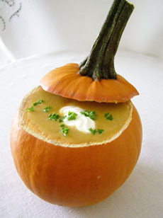 Luxury Experience's Pumkin Chestnut Soup - Photo by Luxury Experience