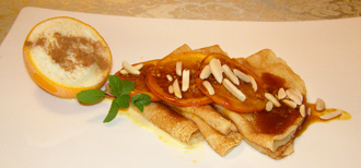 Luxury Experience's Clement Creole Shrubb Ice Cream and Crepes - Photo by Luxury Experience